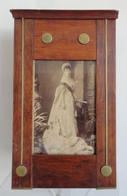 Grand Duchess Elisabeth (Ella) Romanov of Russia Bergamasco Photo in Antique Imperial Russian Frame